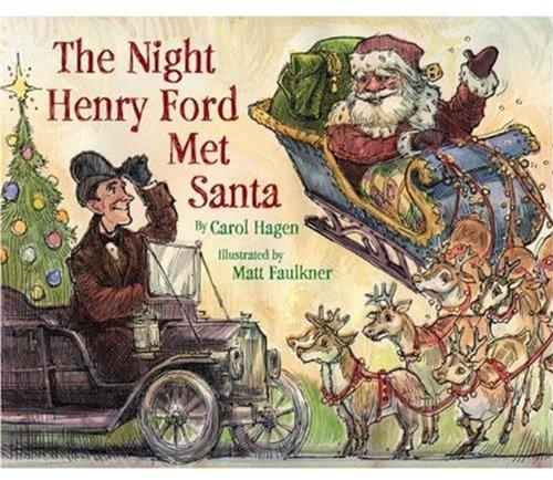 Santa Model T Henry Ford