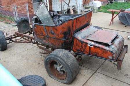 Barn Find T-Bucket