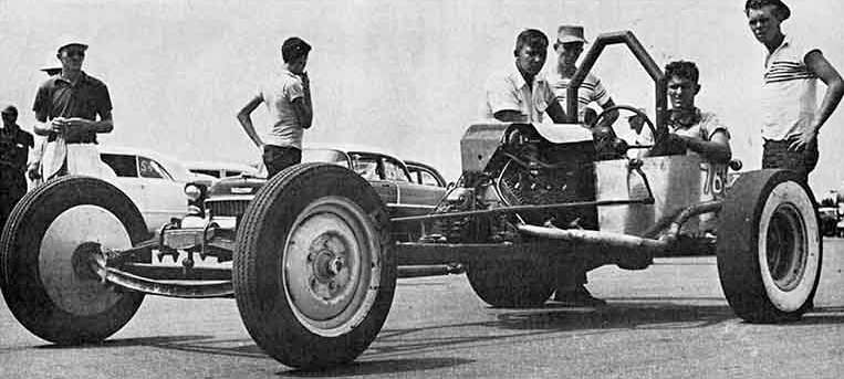 Don Garlits First Dragster Had T-Bucket Roots