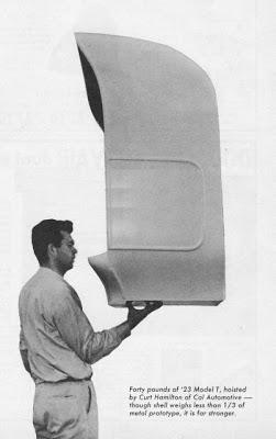 Fiberglass T Bucket Body Curt Hamilton Cal Automotive