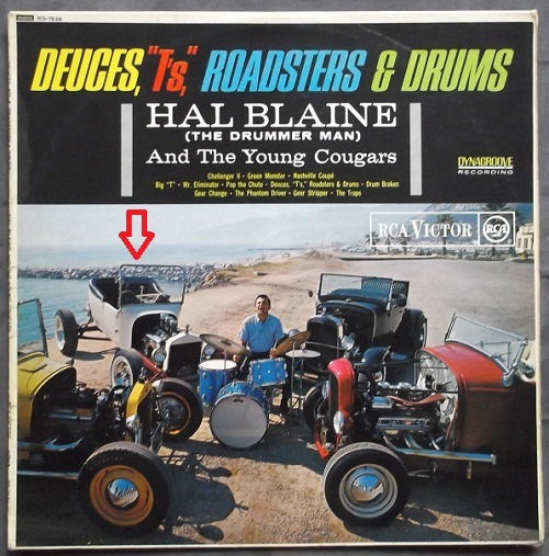 Fred Steel Roadster Hal Blaine Deuces Ts Roadsters Drums