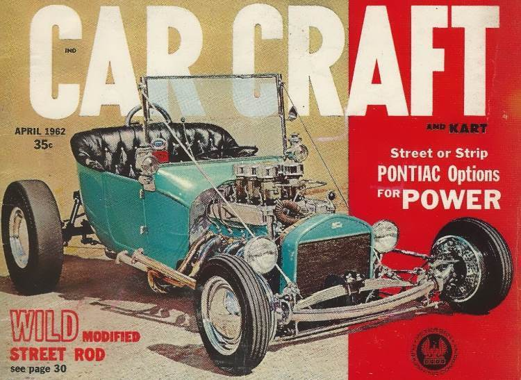 George Gould T-Bucket Car Craft April 1962