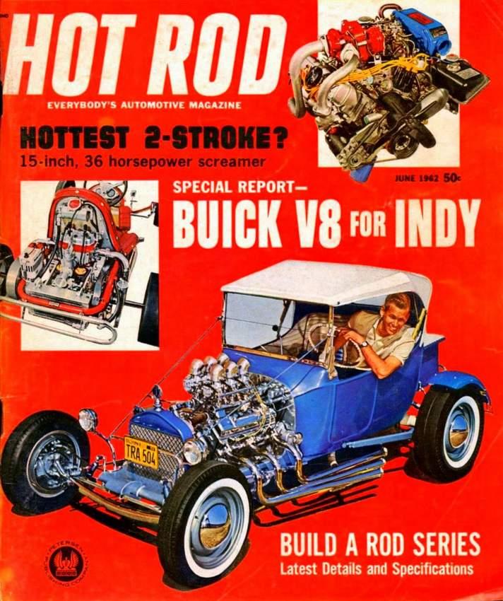 Buzz Pitzen T-Bucket Hot Rod June 1962