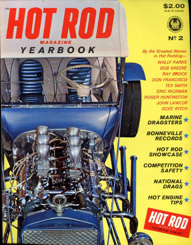 Buzz Pitzen T-Bucket Hot Rod Yearbook 2
