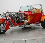 Chevy Powered T-Bucket Trike, or Why 3 Wheels