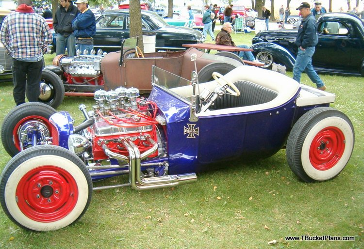 T-Bucket Real Hot Rods Dan Collins