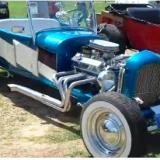 Super-Clean '27 T-Bucket Roadster at Buckethead Bash