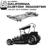 Review of the Famous California Custom Roadster, CCR, T-Bucket Frame Plans
