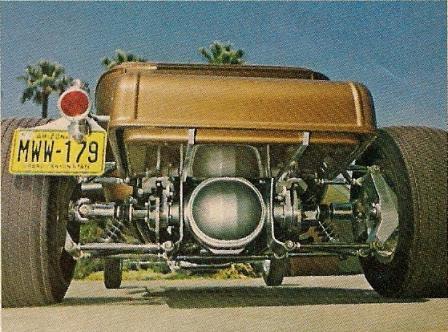 Mark Niver T-Bucket from Rod & Custom January 1974