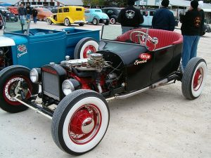 Scott Linder's Krylon Special 1918 Dodge roadster T-Bucket