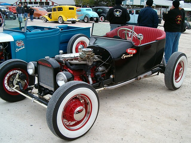 Scott Linder's Krylon Special 1918 Dodge roadster T-Bucket