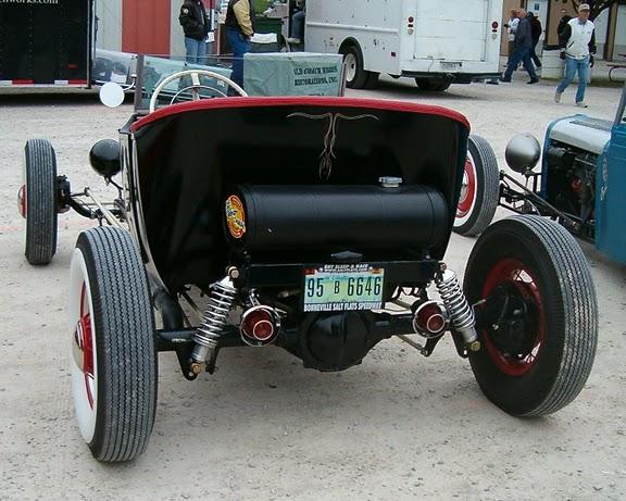 Bubba's Hot Rod Shop built Krylon Special Dodge Roadster T-Bucket