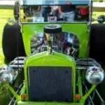 Green T-Bucket With Quarter Elliptics Videos