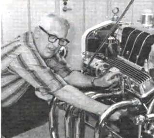 T-Bucket and Speed Shop owner Bill Von Esser