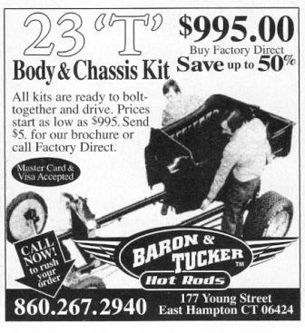 Baron & Tucker Hot Rods T-Bucket 23'T'