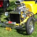 Blown T-Bucket With Nitrous and See-Thru Top