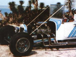 Chester Greenhalgh Model A grille shell on T-Bucket