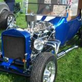 Dadz T-Bucket roadster with trailer
