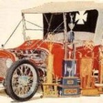 "Joe Pirronello and ""The Lively Set"" Dodge T-Bucket"