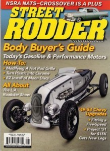"T-Bucket ""Props"" to Street Rodder Magazine"