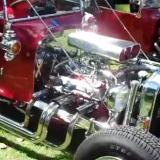 Chrome-Crazy T-Bucket Hot Rod Roadster