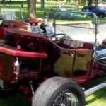 Red 'n Raked T-Bucket Roadster