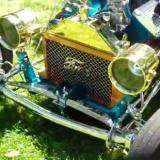 Turquoise T-Bucket Fad-T Roadster
