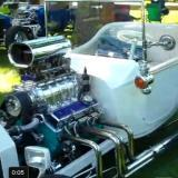 Blown, White Total Performance T-Bucket Video