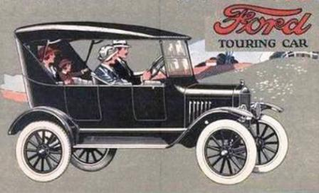 1923 Model T Ford Touring Car