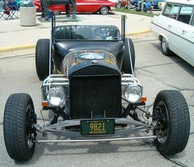 Black Budget Build T-Bucket Roadster