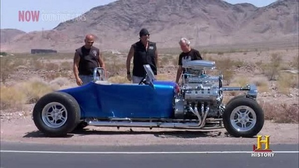 Counting Cars Double Trouble T Roadster Hot Rod