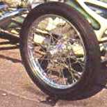 first T-Bucket spindle mount wire wheels