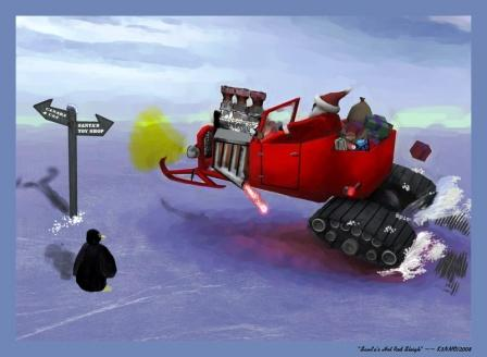 Hot Rod T-Bucket Sleigh
