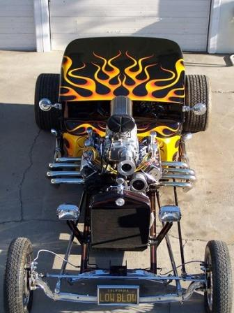 Low Blow T-Bucket Hot Rod by Scott Ellis