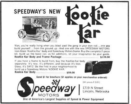 Speedway Motors Kookie Kar T-Bucket Kit