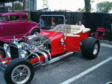Sun Ts T-Bucket Hot Rod Roadster