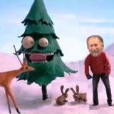 Happy T-Bucket Hot Rod Holiday Wishes