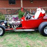 Maybe Santa Really Does Drive a T-Bucket