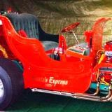 Santa's T-Bucket Hot Rod Roadster Sleigh