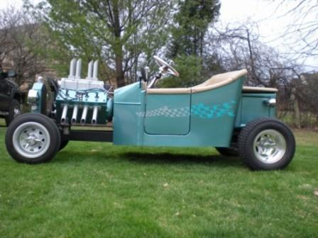 Electric T-Bucket Golf Cart