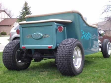 An electric t bucket golf cart for Golf cart plans