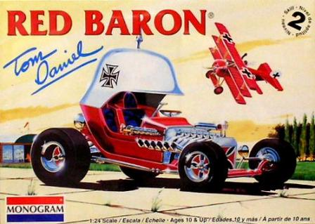 Tom Daniel Red Baron T-Bucket Monogram Model