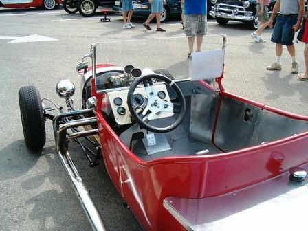 Track Nose T-Bucket Hot Rod
