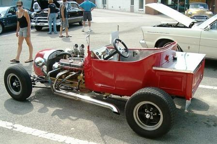 Track Nose T-Bucket Roadster