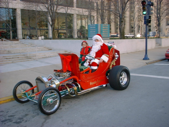 hot rod santa butch reeves