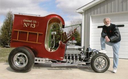 Chuck Miller The Fire Truck C-Cab