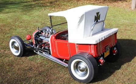 Joe Pirronello Lively Set T-Bucket Hot Rod Roadster