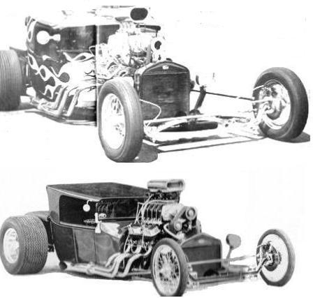 Low Blow T-Bucket Hot Rod Roadsters of Scotty Ellis and Pip Biddlecombe