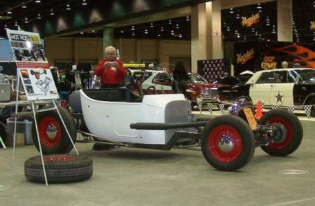 2011 Detroit Autorama NEHR Speedcraft Hot Rod In a Box T-Bucket