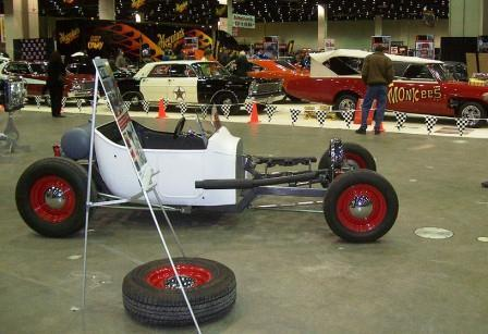 2011 Detroit Autorama NEHR Speedcraft Hot Rod in a Box T-Bucket kit